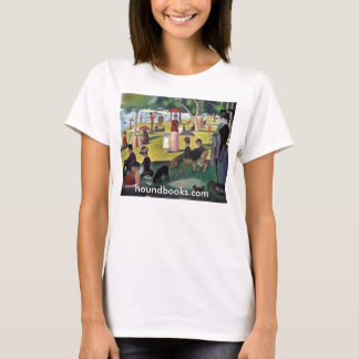 Island of La Grande Jatte with Wimsey Bloodhound T-Shirt