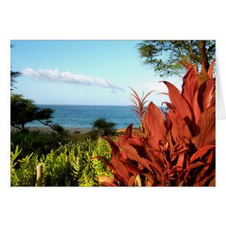 Island of Lanai, Hawaii Card