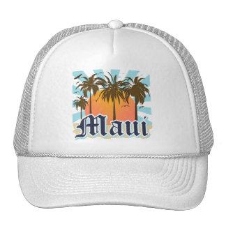 Island of Maui Hawaii Souvenir Hats