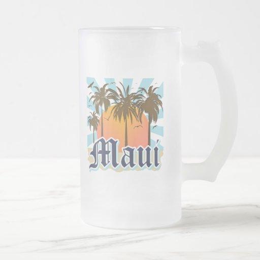 Island of Maui Hawaii Souvenir Mugs