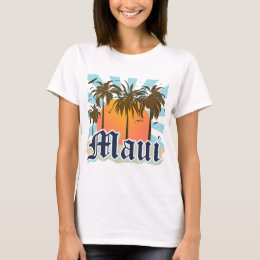 Island of Maui Hawaii Souvenir T-Shirt