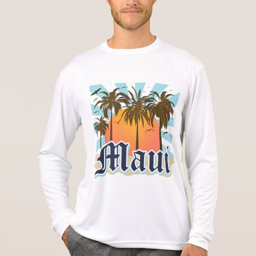 Island of Maui Hawaii Souvenir T Shirts