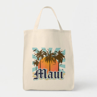 Island of Maui Hawaii Souvenir Tote Bag
