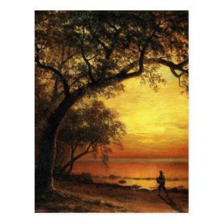 Island Of New Providence By Albert Bierstadt Postcard