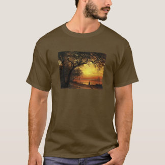 Island Of New Providence By Albert Bierstadt T-Shirt