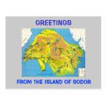 Island of Sodor Postcard
