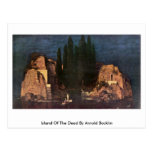 Island Of The Dead By Arnold Bocklin Post Card