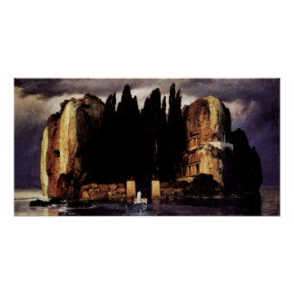Island of the dead ones by Arnold Bocklin Poster