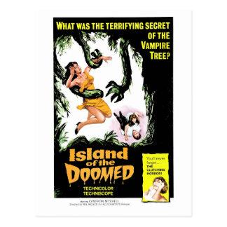 Island of the Doomed Postcard