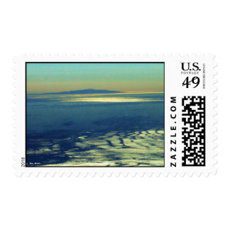Island on Horizon Stamp