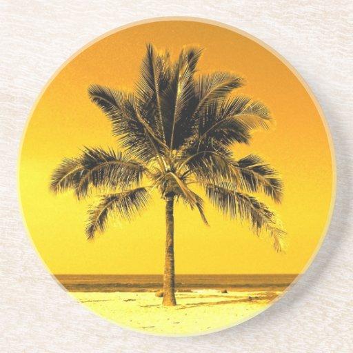 Island Palm Tree Coaster
