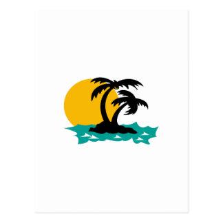 ISLAND PALMS POSTCARD