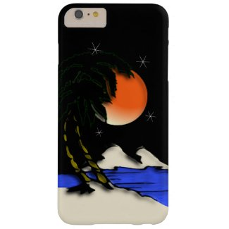 Island Paradise Barely There iPhone 6 Plus Case