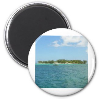 Island Paradise Mauritius 2 Inch Round Magnet