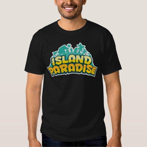 Island Paradise - Mens Dark T-Shirt