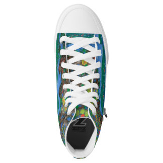 Island Paradise Sneakers Printed Shoes