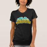 Island Paradise - Womens Dark T-Shirt