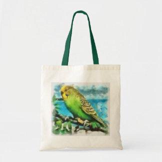 Island Parakeet Tote Bag