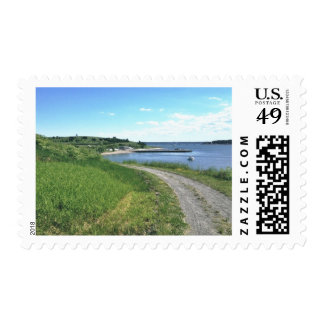 Island Pathway stamps