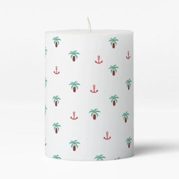 Island Pillar Candle