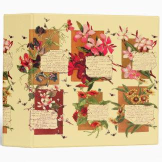 Island Plumeria Flowers Blossoms Floral Poems Binder