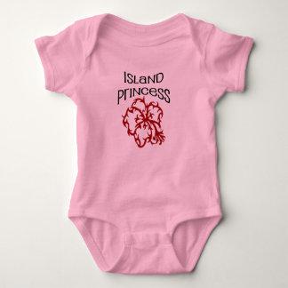 island princess baby bodysuit