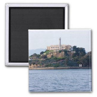Island Prison, Alcatraz 2 Inch Square Magnet