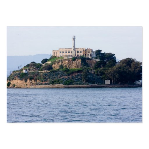 Island Prison, Alcatraz Large Business Cards (Pack Of 100)