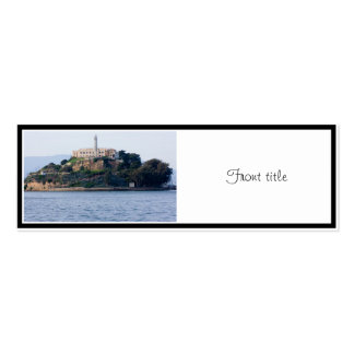 Island Prison, Alcatraz Double-Sided Mini Business Cards (Pack Of 20)