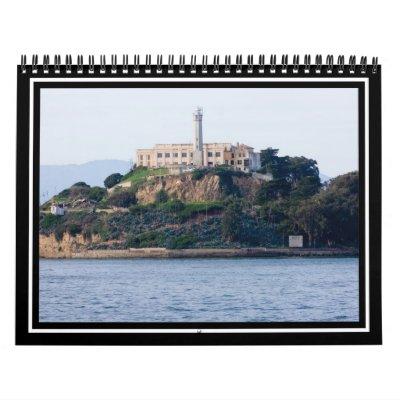 Island Prison, Alcatraz Calendar