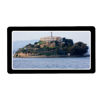 Island Prison, Alcatraz Custom Shipping Label