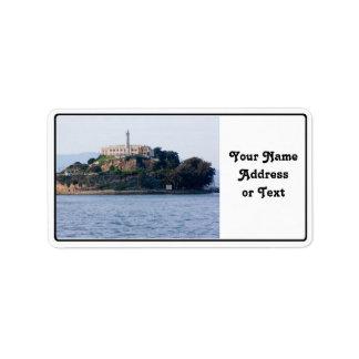 Island Prison, Alcatraz Custom Address Labels