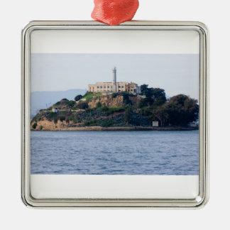 Island Prison, Alcatraz Metal Ornament