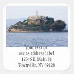 Island Prison, Alcatraz Sticker