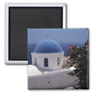 Island Santorini, Greece, Magnet