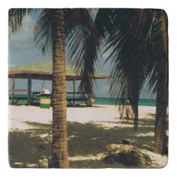 Island Scene Trivet
