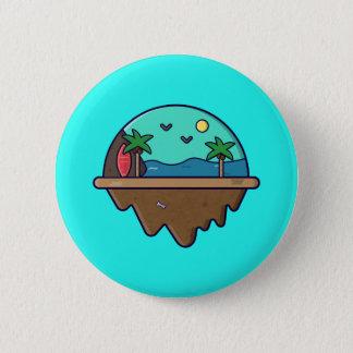 Island Serie - Beach Island Button