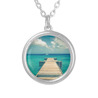 Island Silver Plated Necklace
