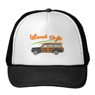Island Style Car Trucker Hat