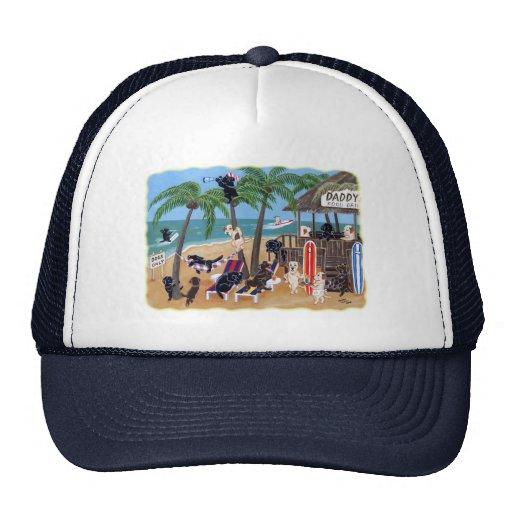 Island Summer Vacation Labradors Trucker Hat