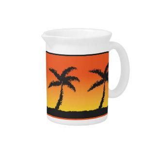 Island Sunset Drink Pitcher