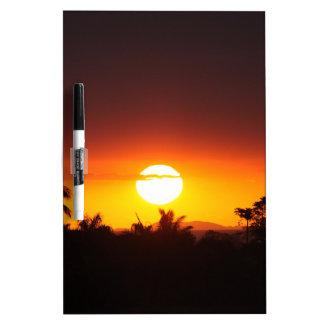 Island Sunset I Dry-Erase Boards