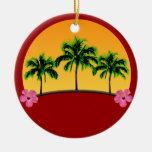 Island Sunset Ornament