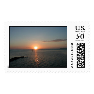 Island Sunset Postage