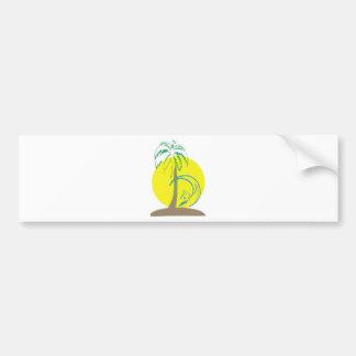 Island Surf Bumper Sticker