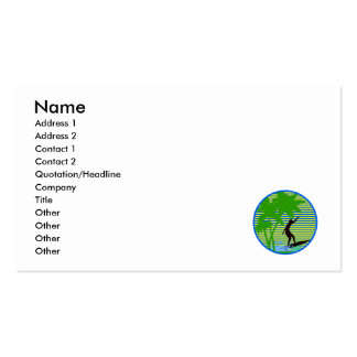 Island Surfer Double-Sided Standard Business Cards (Pack Of 100)