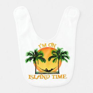 Island Time Baby Bib