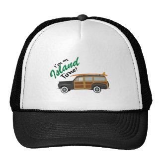 Island Time Car Trucker Hat