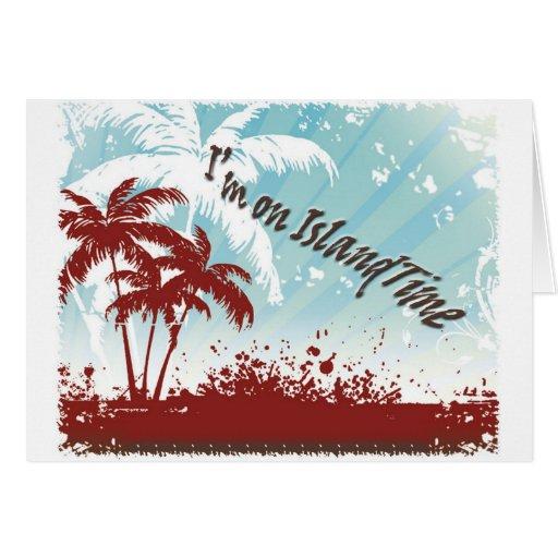 Island Time Card