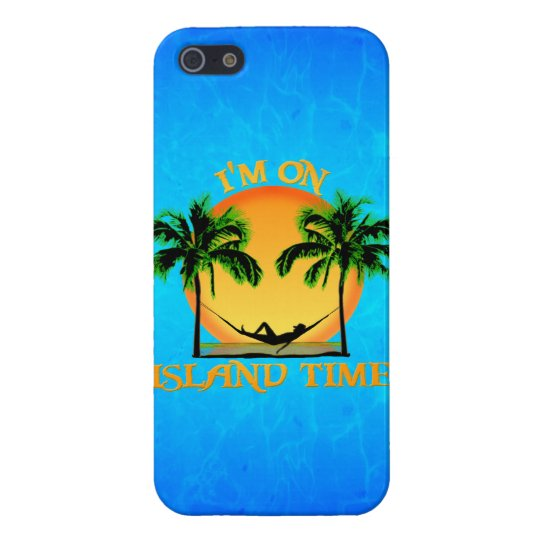 Island Time Case For iPhone SE/5/5s